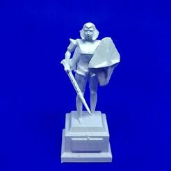 20201015_182638.jpg Download OBJ file Old School Runescape Commander Zilyana Chess Queen Figure • Design to 3D print, Wychu