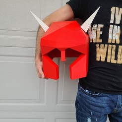 20201027_134821.jpg Download OBJ file Old School Runescape Dragon Med Helm Cat Armor • 3D print design, Wychu