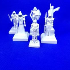 20201015_182345 - Copy.jpg Download STL file OSRS Chess Set Old School Runescape Mini Figures  • Model to 3D print, Wychu