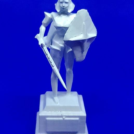 20201015_182626 - Copy.jpg Download STL file OSRS Chess Set Old School Runescape Mini Figures  • Model to 3D print, Wychu