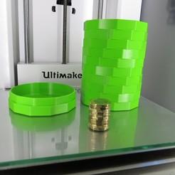 Télécharger fichier STL gratuit Boîte à monnaie • Design pour imprimante 3D, chrismveng