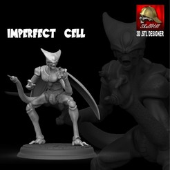 Download 3D printer templates IMPERFECT CELL, SKULLHILL