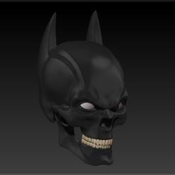 Imprimir en 3D batman skull V2, SKULLHILL