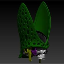 Download 3D printing models PERFECT CELL SKULL, SKULLHILL