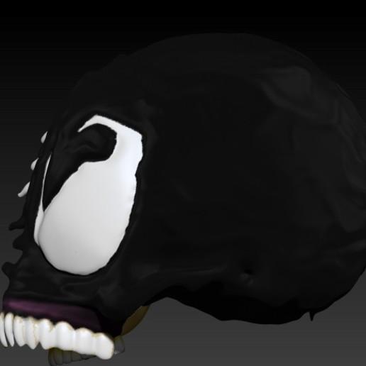 2.jpg Download STL file VENOM SKULL V2 • Model to 3D print, SKULLHILL