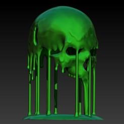 Imprimir en 3D invisible skull, SKULLHILL