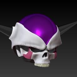 Descargar modelos 3D para imprimir  frezeer first form skull, SKULLHILL