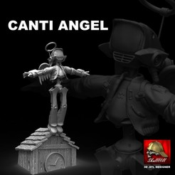 Download STL canti angel flcl, SKULLHILL