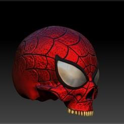 Descargar STL spider-man skull, SKULLHILL