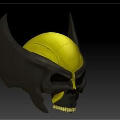 Descargar archivos STL wolverine skull, SKULLHILL