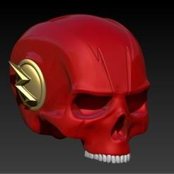 Descargar modelos 3D THE FLASH SKULL, SKULLHILL