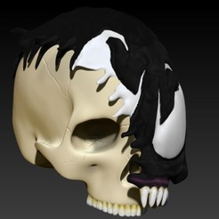 9.jpg Download STL file VENOM SKULL V2 • Model to 3D print, SKULLHILL