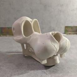 Descargar modelos 3D para imprimir goffy skull, SKULLHILL