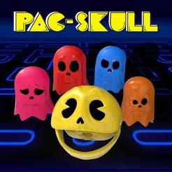 Descargar archivos 3D pacskull and ghostskulls, SKULLHILL