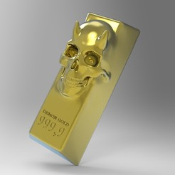 Download 3D printing files DEMONG GOLD, SKULLHILL