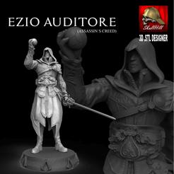 Télécharger modèle 3D EZIO AUDITORE (CREDO DE L'ASSASSIN), SKULLHILL