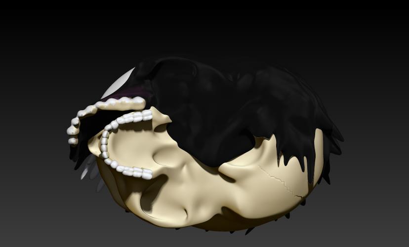1.jpg Download STL file VENOM SKULL V2 • Model to 3D print, SKULLHILL