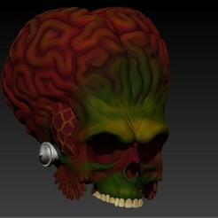 7.jpg Download STL file mars skull • 3D printing model, SKULLHILL