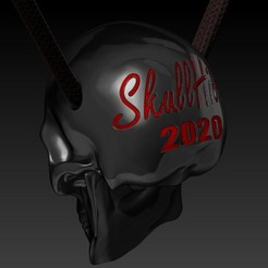 Descargar archivos 3D gratis skull pendant, SKULLHILL