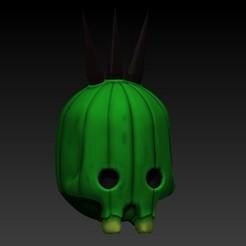 Impresiones 3D gratis cactilio skull, SKULLHILL