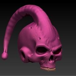 4.jpg Download STL file majin buu skull • 3D printable object, SKULLHILL