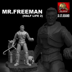 Télécharger plan imprimante 3D MR. GORDON FREEMAN, SKULLHILL