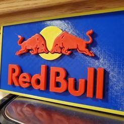Descargar archivo 3D Logotipo RedBull, viet3