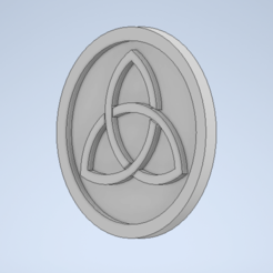 Capture.PNG Download STL file Celtic Knot Coin/Coaster • 3D printable template, Stebo18