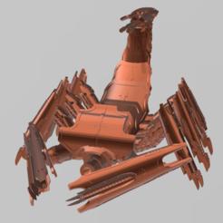front.png Télécharger fichier STL gratuit Arachnide métallique épique de la dîme du sang • Plan pour impression 3D, williamjarrett2