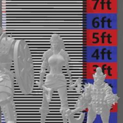 Descargar archivos STL gratis Instrumento de medición en miniatura de 32mm de escala heroica, williamjarrett2