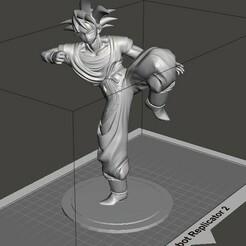 Goku.jpg Télécharger fichier STL gratuit Figure Goku • Plan pour impression 3D, cristobaltron