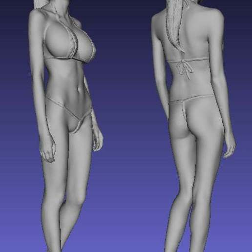 SexyCyborg_Heels_NoBase.jpg Download free OBJ file 3D body-scan (structured light) • 3D printing object, SexyCyborg