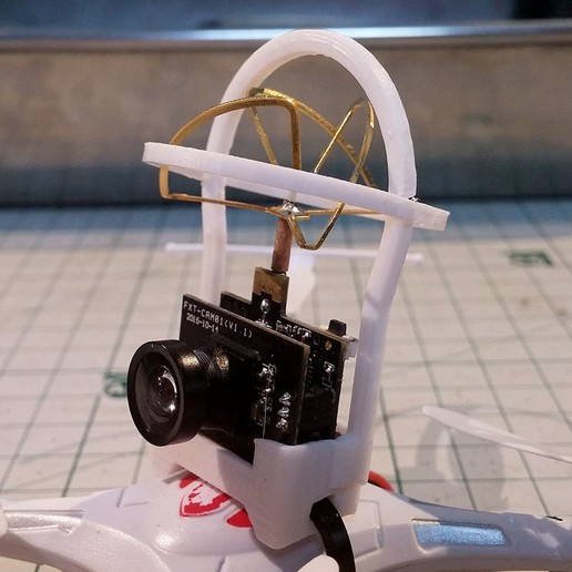 JJRC-Big.jpg Download free STL file The Whoopinator- FPV Quad Camera Mount • Object to 3D print, SexyCyborg