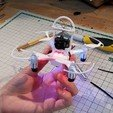 Download free STL files The Whoopinator- FPV Quad Camera Mount, SexyCyborg