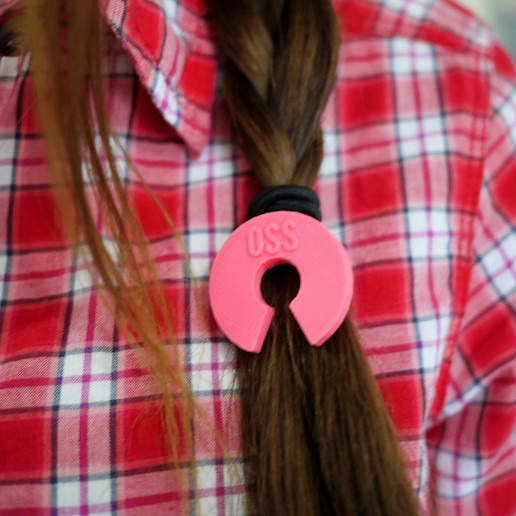 P1170520.jpg Télécharger fichier STL gratuit Attaches de cheveux pour matériel/logiciels libres • Plan pour imprimante 3D, SexyCyborg