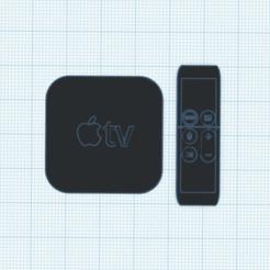 Capture d'écran 2020-10-08 à 19.17.31.png Download STL file Apple TV • 3D print model, TheoTim