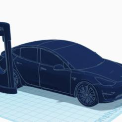Capture d'écran 2020-06-11 à 18.00.20.png Download STL file Tesla model 3 • Design to 3D print, TheoTim