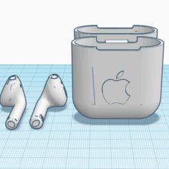 Capture d'écran 2020-10-08 à 18.57.19.png Download STL file AirPods • 3D print template, TheoTim