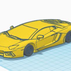Capture d'écran 2020-05-24 à 09.22.34.png Télécharger fichier STL lamborghini aventador • Modèle pour impression 3D, TheoTim