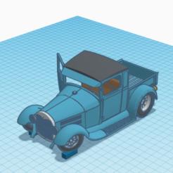 Capture d'écran 2020-06-08 à 18.08.41.png Télécharger fichier STL Ford jolie voiture de collection • Modèle pour imprimante 3D, TheoTim