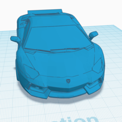 Capture d'écran 2020-06-03 à 18.40.17.png Download STL file lamborghini aventador avec élerons • 3D printing model, TheoTim