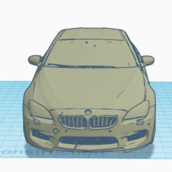 Capture d'écran 2020-06-26 à 08.00.35.png Download STL file BMW M6 • 3D printable template, TheoTim