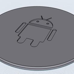 Descargar modelos 3D para imprimir Posavasos Android, BarSua