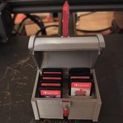 IMG_20201019_010849.jpg Télécharger fichier STL gratuit Coffret Jeu Switch • Objet à imprimer en 3D, Doenix