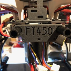 Download free 3D printing designs Voltage Monitor for f450 / fy450, itonystark