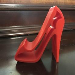 Download 3D printing files High Heel Phone Stand, vladimirv