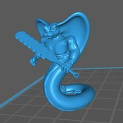 Yuan_Ti_01_a.jpg Télécharger fichier STL gratuit Yuan-Ti / Guerrier homme-serpent, Pose 1 • Modèle à imprimer en 3D, np-dev