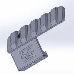 Download 3D printer templates 45° deported Light Mount, D84CONCEPTS
