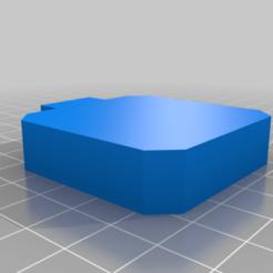 capac_spate_nema17.png Download free STL file Nema 17 cover • 3D printer object, amihaita