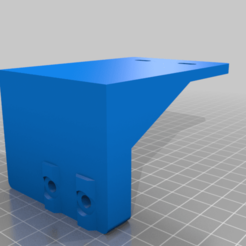 Suport_sursa_Ender_3_parte_spate_v3.png Download free STL file Ender 3 Power Supply support for dual z axis (2 leadscrews) • 3D printable design, amihaita